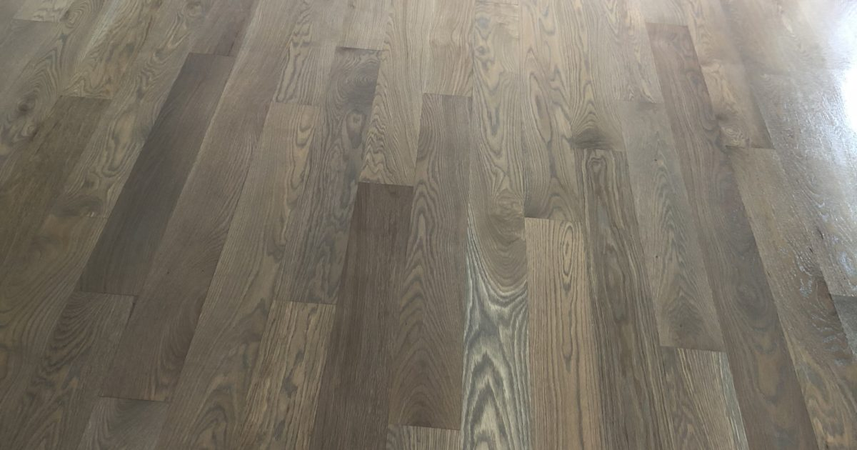 South Tacoma White Oak Floor Ptl Hardwood Floors Llc