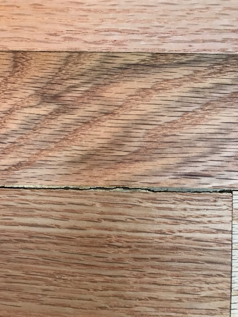 Why Does My Hardwood Floor Have Gaps Ptl Hardwood